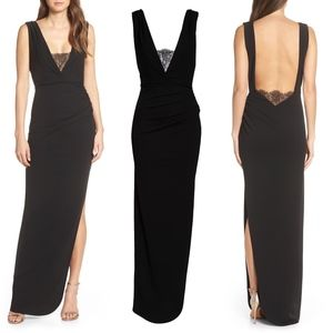 Katie May saving face ruched gown